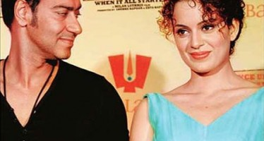 The secret affair between Ajay Devgan and Kangana Ranaut!