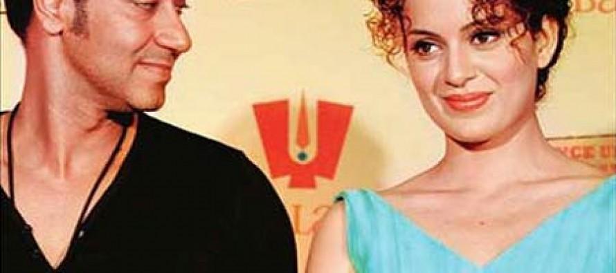 The secret affair between Ajay Devgan and Kangana Ranaut!