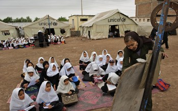 UNICEF funds building of 75 schools in central Afghanistan