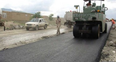Asphalting of the Herat-Badghis Ring road Begins