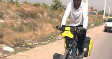Afghan Cycles London to Kabul to Show Nation's Prowess