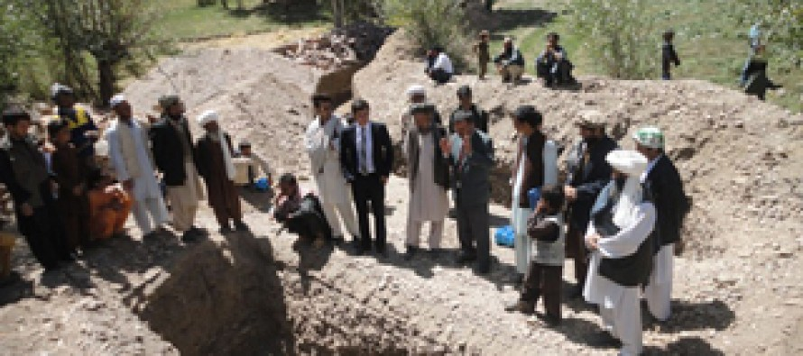 Irrigation projects executed in southern provinces