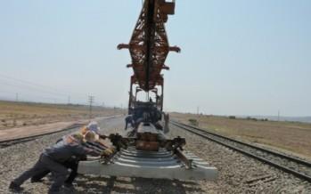 Herat-Iran railway track 90% completed: Herat Officials