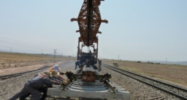 Herat-Iran railway track 90% completed: Herat Officials