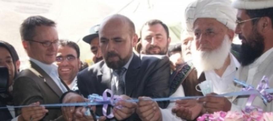 Afghanistan's Wool Processing Factory's Foundation Laid in Badakhshan