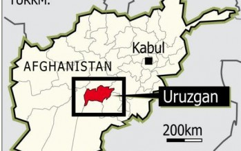 Uruzgan to witness its first-ever mega uplift project