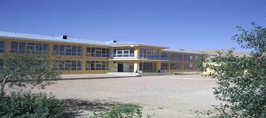 New buildings for Bamyan University