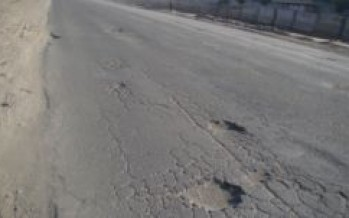Kabul residents complain about the poor conditions of the roads