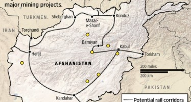 Railroads-a must for Afghanistan mining