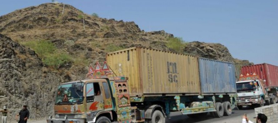Iran allows Nimroz bound trucks to pass the border
