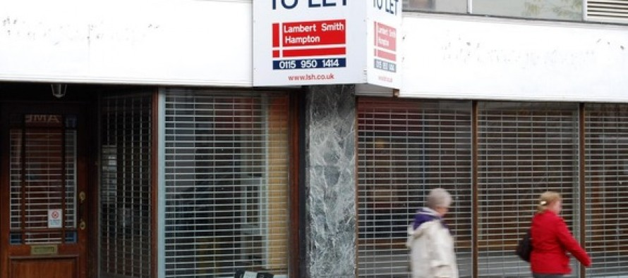 Empty shops at record levels in UK town centres