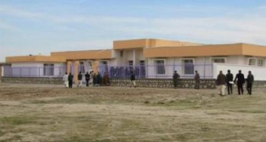 Inauguration of a new building for Balkh's economics department