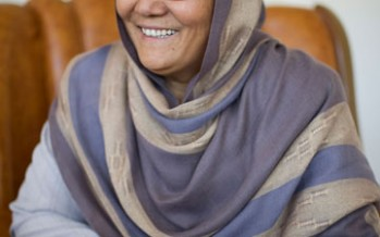 Bamyan's governor Habiba Surabi speaks of her achievements