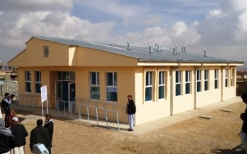 Health Center for Ghazni Refugee Town opened
