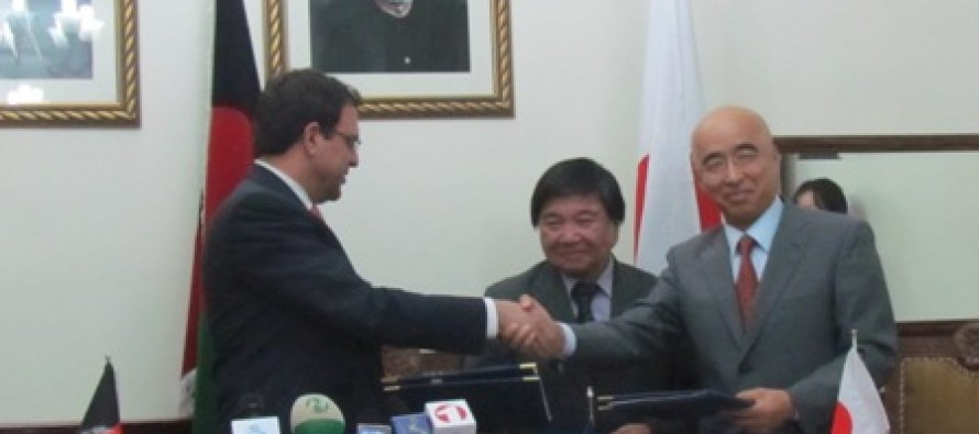 Japan's million dollar aid to Afghanistan's agriculture sector