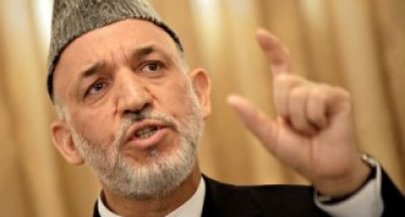 Outgoing President Karzai thanks the international community for their support