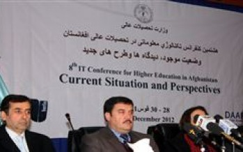 Internet services to be extended to all universities in Afghanistan