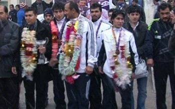 Afghanistan Gets Second Place at Fajr Taekwondo Competitions