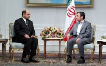 Iranians stand by Afghan nation- Ahmadinejad
