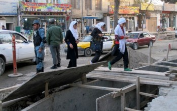 Kabul streets get overdue facelift