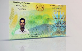 President Karzai orders the distribution of electronic IDs to begin in February