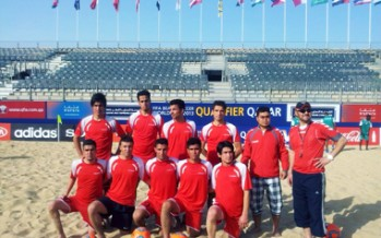 Afghan Beach Football Team Heads to Qatar for FIFA Qualifier