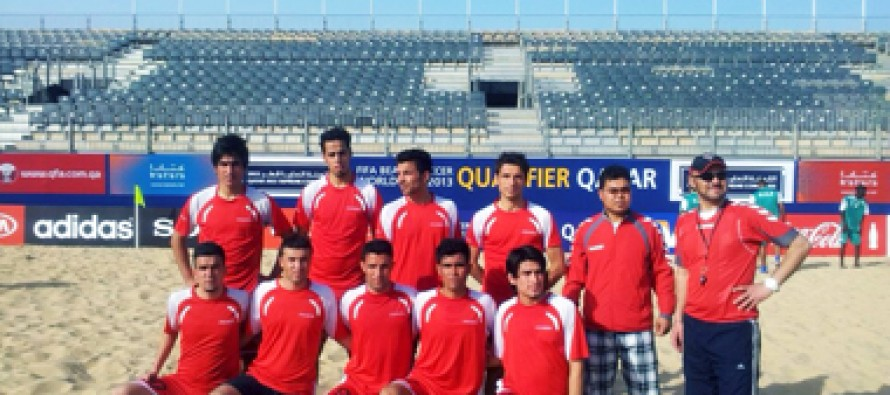 Afghan Beach Football Team Heads to Qatar for FIFA Qualifier