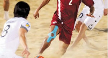 Afghanistan trounces Qatar by 7-3 in Asian Beach Soccer qualifiers