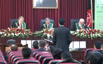 Afghan students qualified for the Global Law Competition