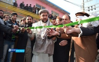 Asphalting of the main road in Zone II of Kapisa inaugurated