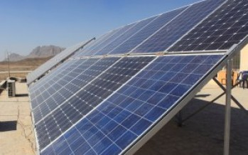 Afghanistan Increases Use of Renewable Energy Sources