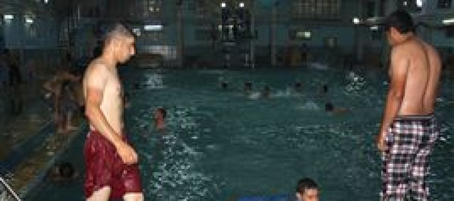 Indoor swimming pools and saunas for Afghan youths