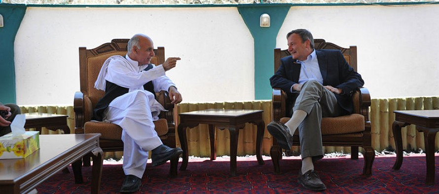 Zakhilwal, Ghani seek US economic support