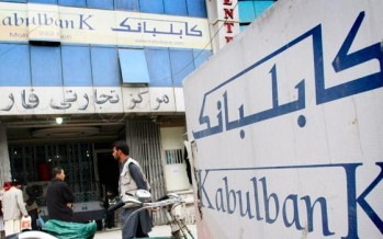 $ 437mn recovered of $987mn stolen from Kabul Bank