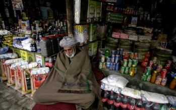 Sugar, firewood prices fall in Kabul