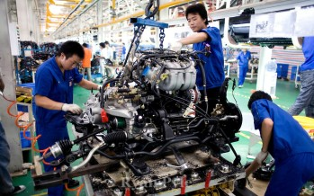 China reports a slowdown in manufacturing growth