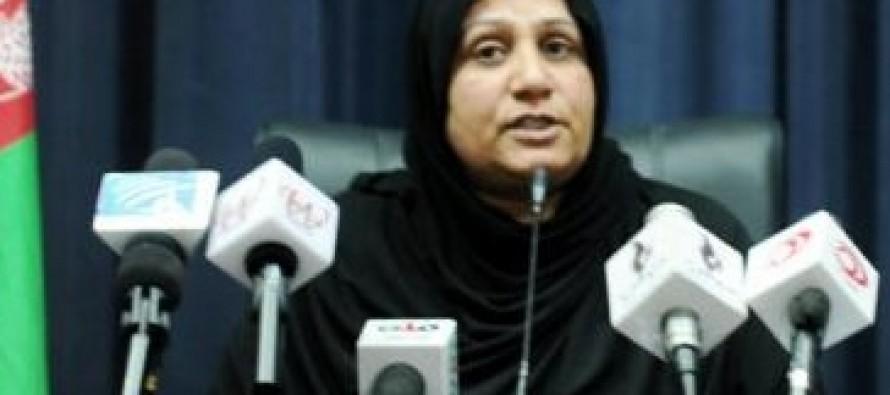 Kandahar women's affairs director vows to implement welfare schemes for women