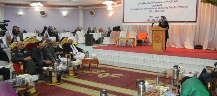 Celebration of International Women's Day in Mazar-e Sharif, Balkh Province