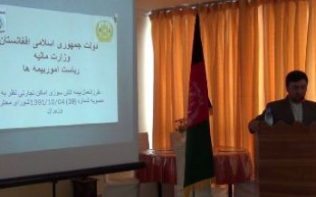 Fire insurance coverage for companies is mandatory-Afghan Ministry of Finance