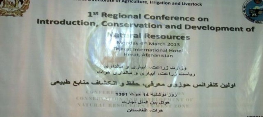 Afghanistan's natural resources are in danger
