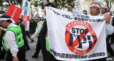 Japan wants to become a part of the TPP free trade talks