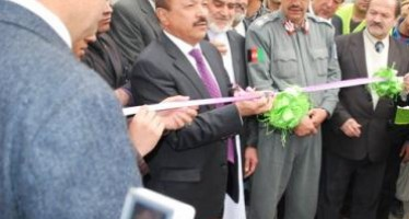 Reconstruction of Proje Awal Taimani road in the 4th district of Kabul begins