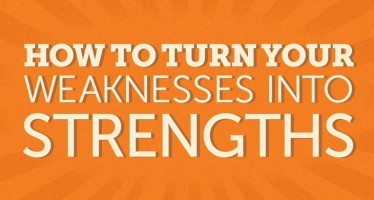 How to Turn Your Weaknesses Into Strengths