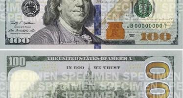 US to print new 100 dollar bills