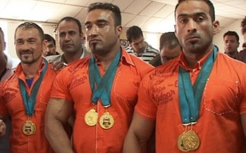 Afghan bodybuilding team wins 6 medals in Asian competitions