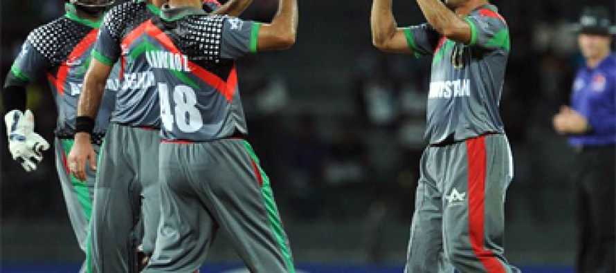 Afghanistan beats Namibia at the ICC World League Championship