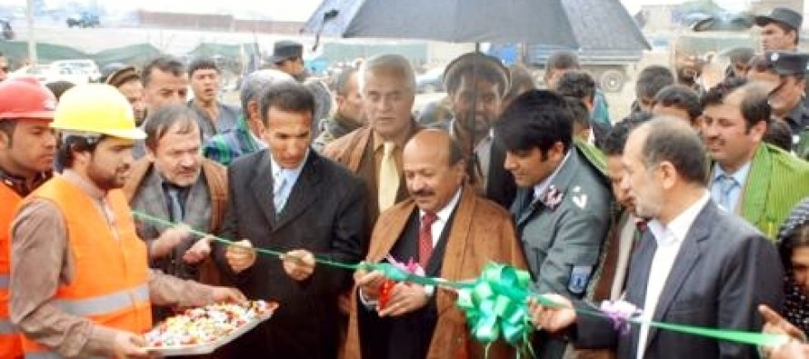 Construction of a major bridge initiated in Kabul
