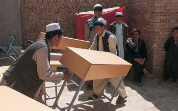 Pashtu Abad School Principal Provides Essential Tools for Ghazni Youths