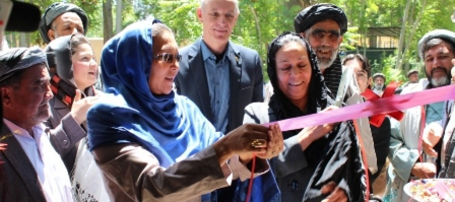 Women's Training Centre inaugurated in Balkh Province