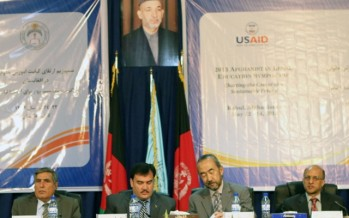 Afghan officials unite to reform legal education